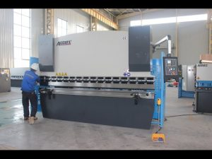 125T sheet metal bending machine 6mm,hydraulic press brake WC67Y-125T 3200 for China