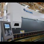 4 осьтік CNC пресс тежегіш машина 175 тонна x 4000 мм CNC моторлы кронштейн