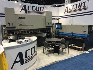 Accurl компаниясы 2016 жылы Чикагодағы машина құралы мен өнеркәсіптік автоматика көрмесіне қатысты