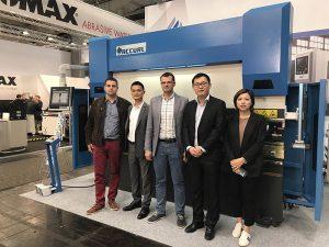 Accurl компаниясы 2017 жылы Германияда Ганновер халықаралық машина жасау көрмесіне қатысты