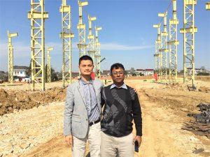 Бангладештің клиенттері жаңа зауытқа келіп, біз құрылады