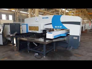 CNC servo driven ram turret punch press 50 ton for servo cnc punching machine