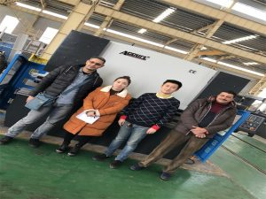 Египет клиенттері Accurl компанияларынан пресс-тежегіш машинаны сатып алады