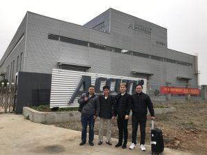 Ресей тұтынушылары біздің фабрикамызда қос байланыстық иілу машинасын көреді