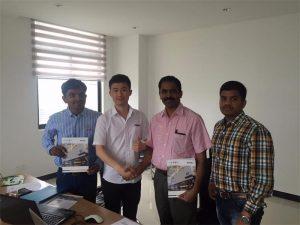 Шри-Ланка клиенттері біздің офисте Mr.Tai технологиясын талқылайды