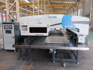 MAX-SF-30T hydraulic punching press machine cnc fanuc system turret punch machine with amada tools machinery manufacturing