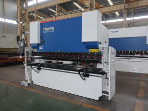 made in china manufacturer 3+1 axis cnc press brake, hydraulic bending machine for sale