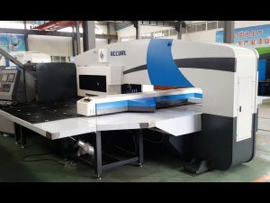 cnc punch press manufacturers - turret punch presses - 5-axis cnc servo punching machines