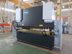 hydraulic cnc press brake 100/3200 delem DA41 control system