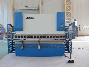 300t*4000 heavy duty 4 axis da52s cnc press brake