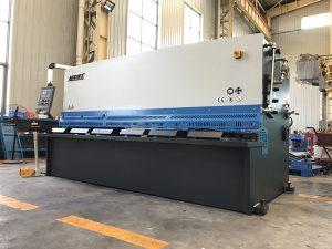 good quality cnc hydraulic shearing machine for iron plate