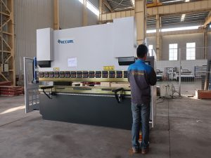 hydraulic press brake wc67y-160 3200