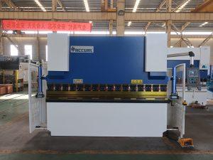 hign speed steel bending NC press brake machine with estun e21 NC control