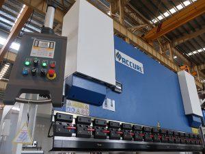 popular hydraulic cnc press brake with estun E210 control system WC67Y- 125Ton/3200mm with engineer service